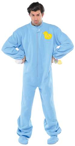Blue Jammies Adult | Party Supplies