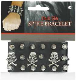 Skull Spike Bracelet | Party Supplies