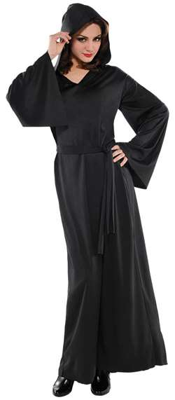 Adult Horror Robe - Black | Party Supplies