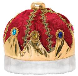 King's Crown - Burgundy | Party Supplies