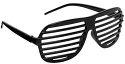 Slot Glasses - Black | Party Supplies