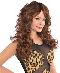 Fabulous Wig - Brown | Party Supplies