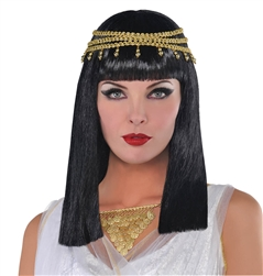 Egyptian Queen Wig | Party Supplies