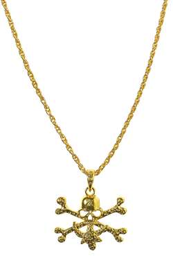 Skull & Crossbone Necklace | Party Supplies