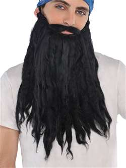 Beard & Moustache - Black | Party Supplies