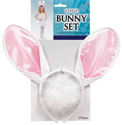 Child's Bunny Set | Party Supplies