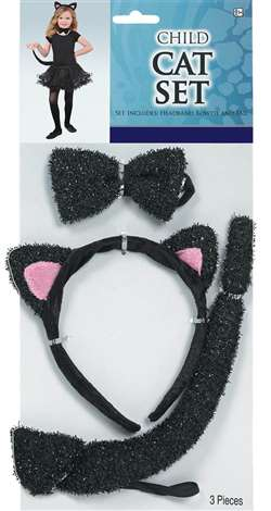Child's Cat Set | Party Supplies