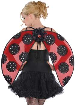 Adult Lady Bug Wings | Party Supplies