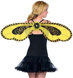 Adult Bumble Bee Wings | Party Supplies