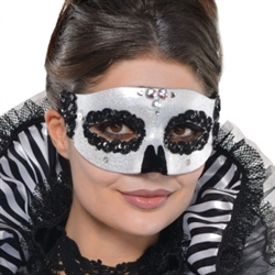 Venetian Skull Mask | Party Supplies