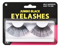 Black Jumbo Eyelashes | Party Supplies