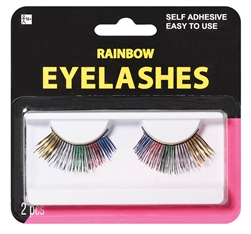 Rainbow Eyelashes | Party Supplies