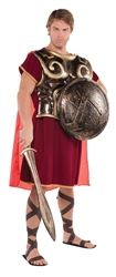 Spartan Chest Plate with Cape | Party Supplies