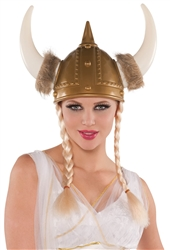 Viking Helmet with Braids | Party Supplies