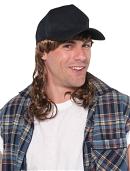 Trucker Hat with Mullet | Party Supplies
