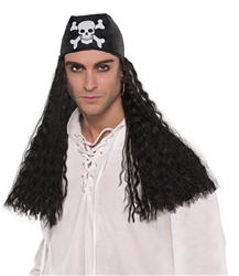 Pirate Bandana Wig | Party Supplies