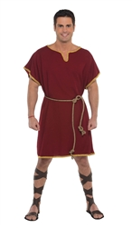 Burgundy Tunic - Adult | Party Supplies