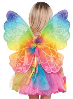 Rainbow Fairy Wings | Party Supplies