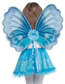 Aqua Fairy Wings | Party Supplies