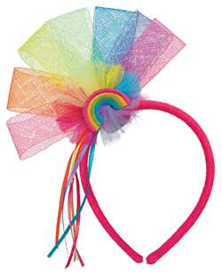 Rainbow Fairy Fascinator | Party Supplies