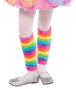 Rainbow Fairy Leg Warmers | Party Supplies