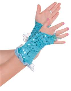 Aqua Fairy Glovelettes | Party Supplies