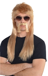 Blonde 18 Wheeler Wig Kit | Party Supplies