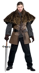 Furry Shoulder Cape - Adult | Party Supplies