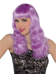 Purple Electric Wig | Party Supplies