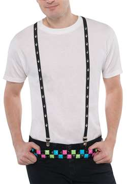Studded Suspenders | Party Supplies