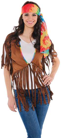 Womens Hippie Vest | Party Supplies