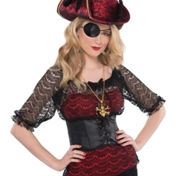 Lace Pirate Shirt | Party Supplies