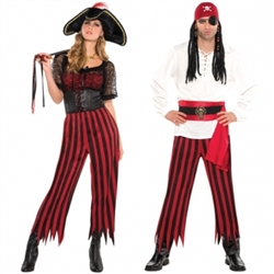 Unisex Pirate Pants | Party Supplies