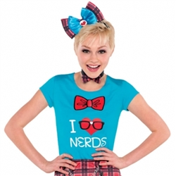 Geek Chic T-Shirt - Junior | Party Supplies