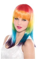 Spectrum Layered Wig | Party Supplies