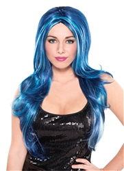 Blue Candy Wig | Party Supplies