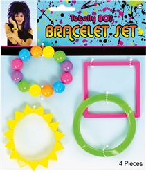 80's Bracelet Set | Party Supplies