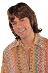 70's Heartthrob Wig | Party Supplies