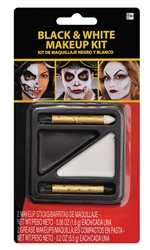 Black & White Makeup Kit | Party Supplies