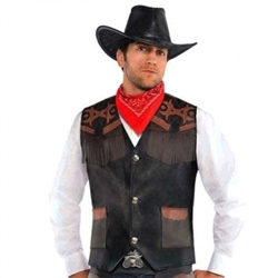 Cowboy Deluxe Vest | Party Supplies