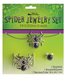 Spider Jewelry Set | Party Supplies