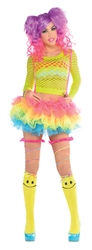Electric Party Tutu with Attached Suspenders | Party Supplies