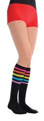 Electric Party Knee Socks | Party Supplies