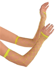 Electric Party Fishnet Arm Warmers | Party Supplies