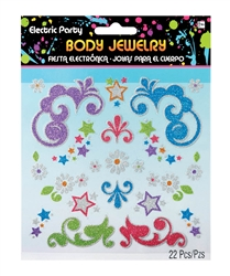 Electric Party Body Jewelry | Party Supplies