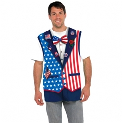 Patriotic Men's T-Shirt - L/XL | Party Supplies
