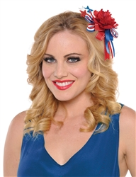 Patriotic Convertible Pin/Hair Clip | Party Supplies