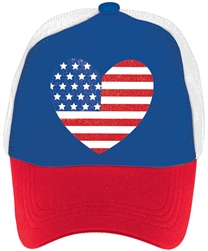 I Love America Hat | Party Supplies