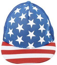 Patriotic Flag Hat - Men's | Party Supplies