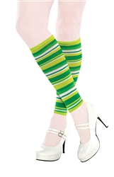 St. Patrick's Day Leg Warmers | Green Socks